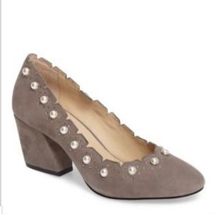 Botkier Holly Pearl Accent Pumps Sz 8.5